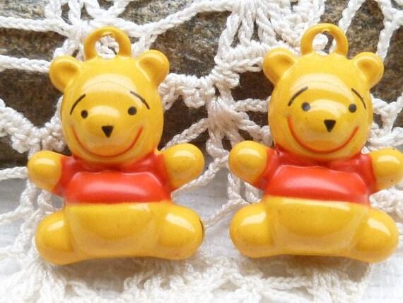 Winnie The Pooh Bell Charm (2)