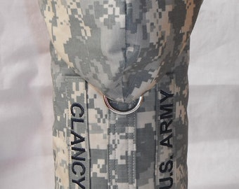 U.S. Army Dog Harness Fur Coat w/hoody and Service/name tab- Size XS, S, M (Made to order)