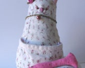 Fabric Cat Doll - Gorbool - 001