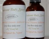 100% Natural, Deodorant Sprays, Aromatherapy, 8 oz, fragrance