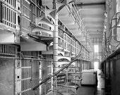 Vintage Photo Inside Alcatraz Prison - San Francisco Photo