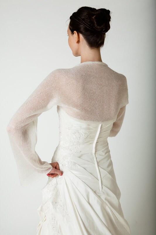 Foulard De Bol Ro De Mariage Etole Mohair Et Par Weddingbolero