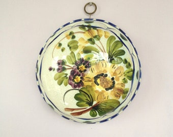 Reduced-Gorgeous Italian Ceramic Hanging Bowl-STUNNING.