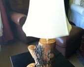 RESERVED FOR ADRIENNE Salvaged Arizona Ash Tree Lamp