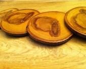 Upcycled Ash Wood Coasters
