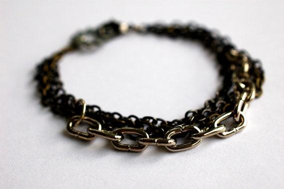 RESERVED Punky Chain Bracelet