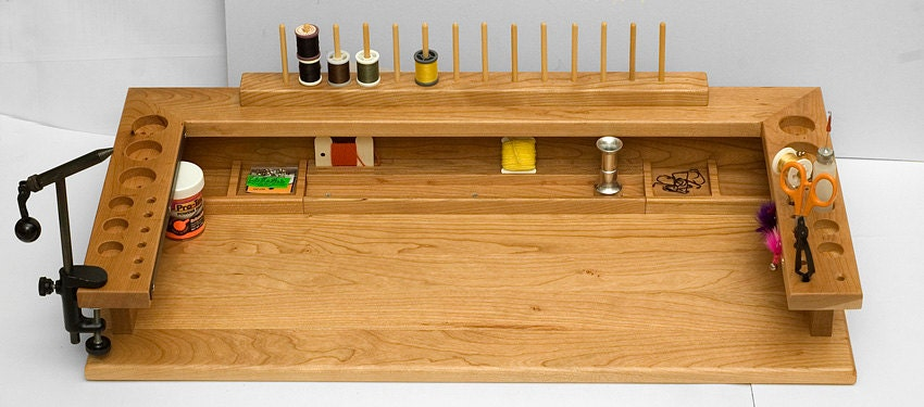 Woodworking build your own fly tying bench PDF Free Download