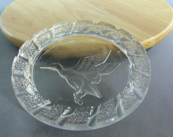 Imperial Glass Company - Ashtray - Duck - Tobacciana -  MG-033