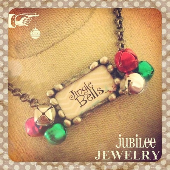 Jingle Bells Soldered Necklace