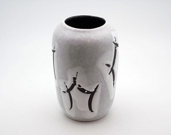 West German Fat Lava vase by Sawa Keramik (256 18)