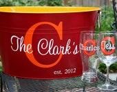 Personalized Drink, Shoe, Toy, or Book Tub