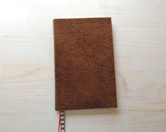 Notebook: Blank Journal, Christmas, Gingerbread, Stocking Stuffer, Gift, Unique, Brown, Paisley, Fun, For Him, Unique, One Of A Kind