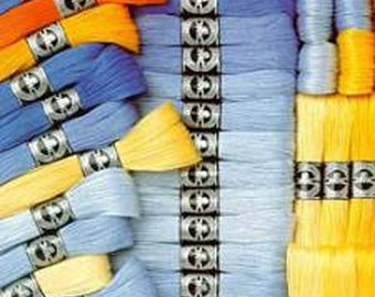 DMC Broder Special - Brilliant Cutwork Thread - Size 25 - Colors 601 - 842