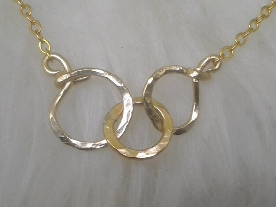 eternity circle necklacetriplets3 necklace