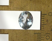 Aquamarine Faceted Oval - 9.5X6.5mm Natural Faceted Gemstone Birthstone: LSAqua9.5X6.5mmOval