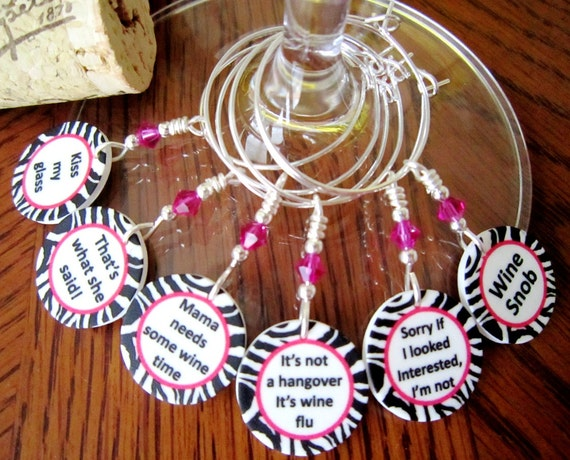 Girls Night Out Quote: Items Similar To Zebra And Hot Pink Girls' Night Out