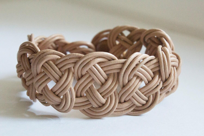 leather braided bracelet celtic knots. Black Bedroom Furniture Sets. Home Design Ideas