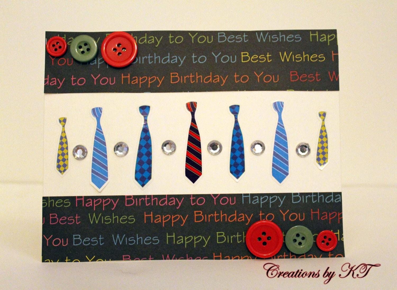 happy birthday card guy ties dad for him, Birthday card