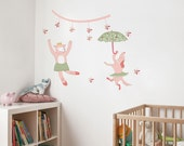 Beatrice the Bear - kid wall decal