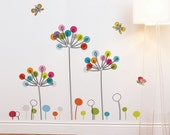 Buttercups - kid wall sticker