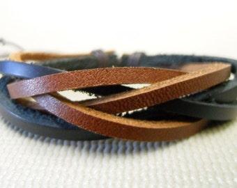 Leather bracelet 006