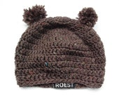 Crochet pattern Bear Hat (DUTCH ONLY)
