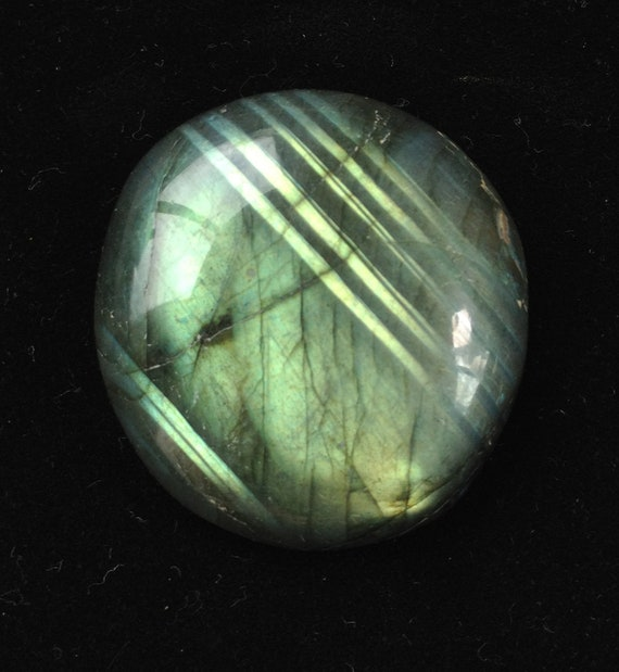 Rainbow Spectrolite Labradorite Cabochon 35x36mm 19g