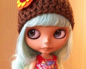 Roasted Chestnuts - Fall Beanie for Blythe