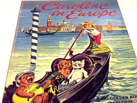 "RESERVED FOR BOB Rare Vintage Book ""Caroline In Europe"""