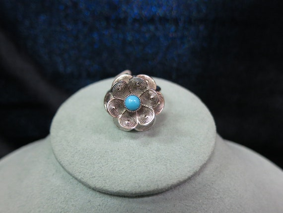 Vintage Sarah Coventry Floral Ring
