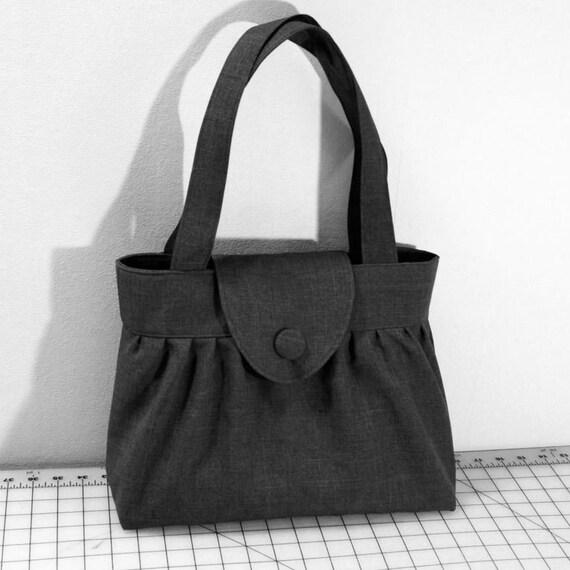 Customizable Pleated Handbag with Flap Closure Choose Your