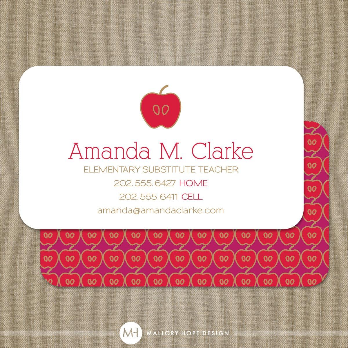 teacher id card template - teacher substitute quotes just b cause