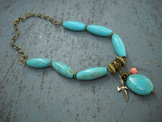 Wings Over Santa Fe Necklace