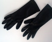 Pair of vintage gloves - deep brown