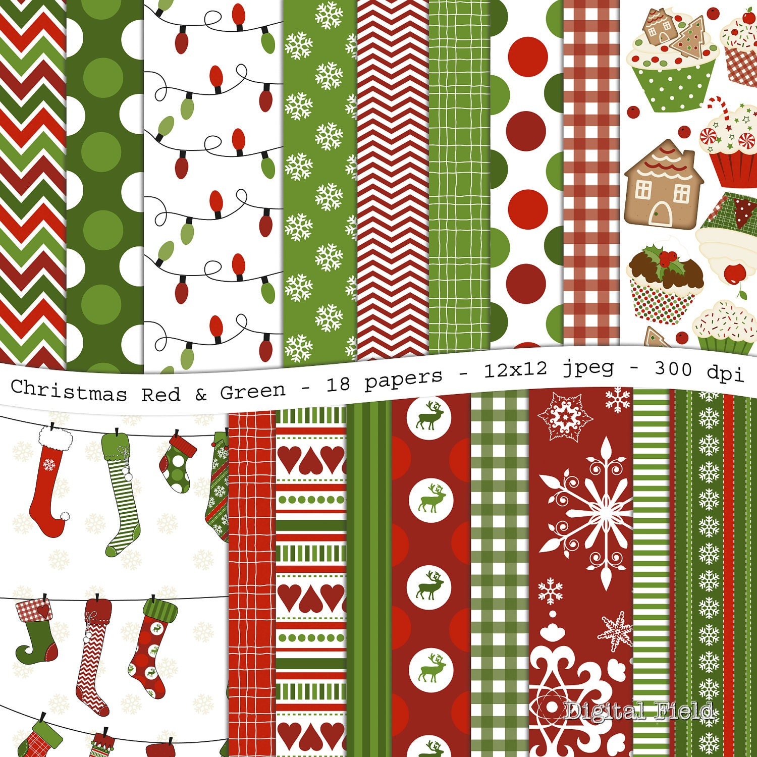 Amazing image regarding free printable christmas scrapbook paper