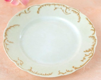 Vintage Haviland Limoges Plate, H & C L France