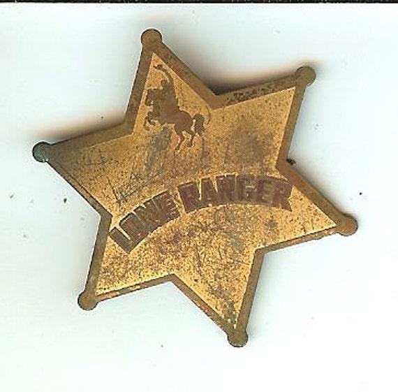 Vintage Lone Ranger Badge