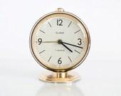 Vintage Soviet Russian Mechanical Alarm Clock Slava