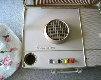 Vintage Retro Dominion Portable Hair Dryer