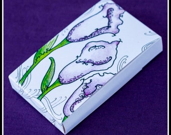 Earring Cards / Boxes - Lillies (30)