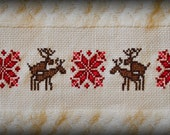 Sexy Times Holiday Hand Towel Pattern