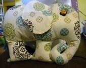 Moroccan Elephant Stuffed Animal