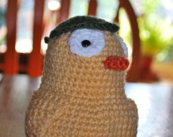 Crochet Duck Spirit
