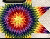 Lone Star Diamond Quilt Pattern and Grid by Quiltsmart READY TO SHIP