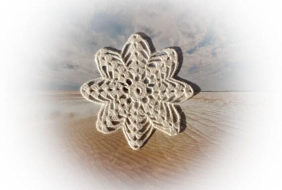 SALE 30% OFF Small crochet doily white handmade linen lace doily crochet doilies