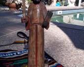 Saint Francis of Assisi, patron saint of animals and the environment, Latin folk art