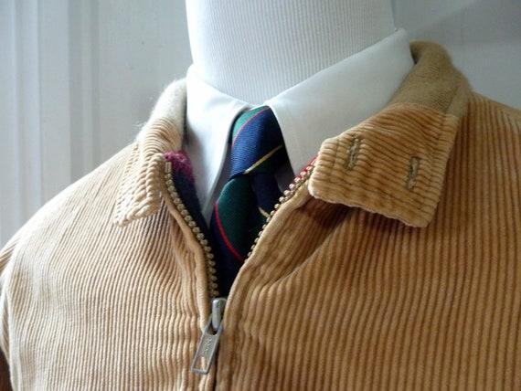 RARE Vintage LL Bean Corduroy Harrington Style Jacket 42.  Made in USA.