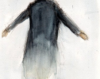 "Side of the Angels- BBC Sherlock ""The Fall"" The Reichenbach Fall Art Print available in various sizes"