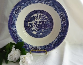 Lovely Blue Willow Serving Bowl by Royal China, Willow Ware