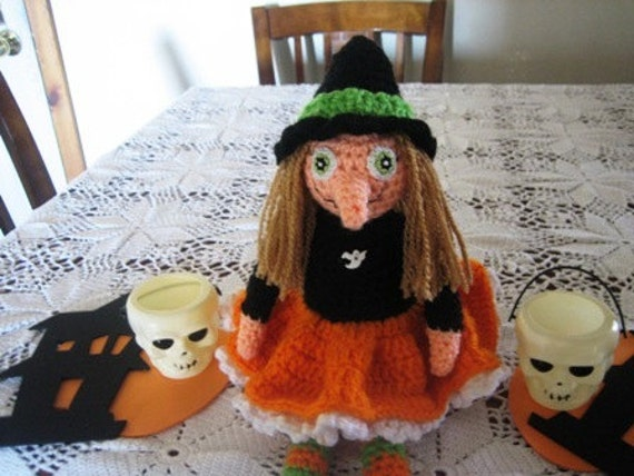 Tabatha Witch Crochet patern at Angels Crochet Too on Etsy